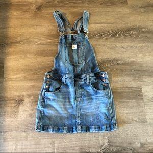 Calvin Klein Jean overall skirt